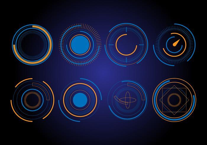 700x490 Free Hud Circle Vector Elements