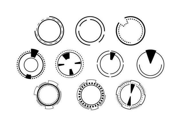 632x443 Free Hud Element Vector Free Vector Download 435335 Cannypic