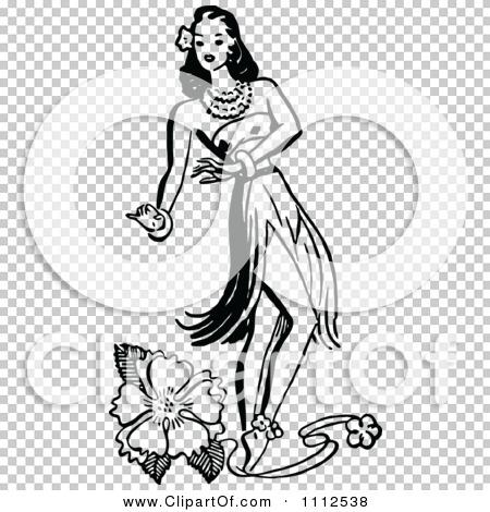 Hula Girl Vector