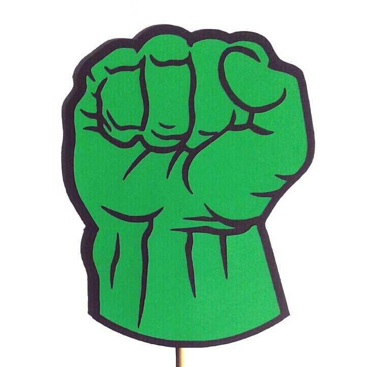 Hulk Fist Vector