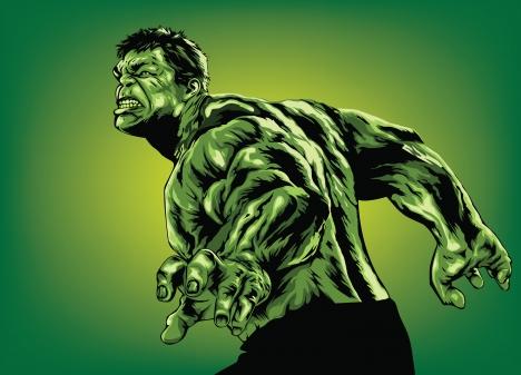 Hulk Vector At Getdrawings Free Download
