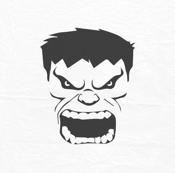 570x564 The Incredible Hulk Face Hulk Face Svg Hulk Face Huk Etsy