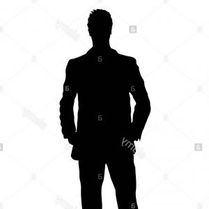 300x300 Photostock Vector A Stylised Unisex Human Figure Standing In
