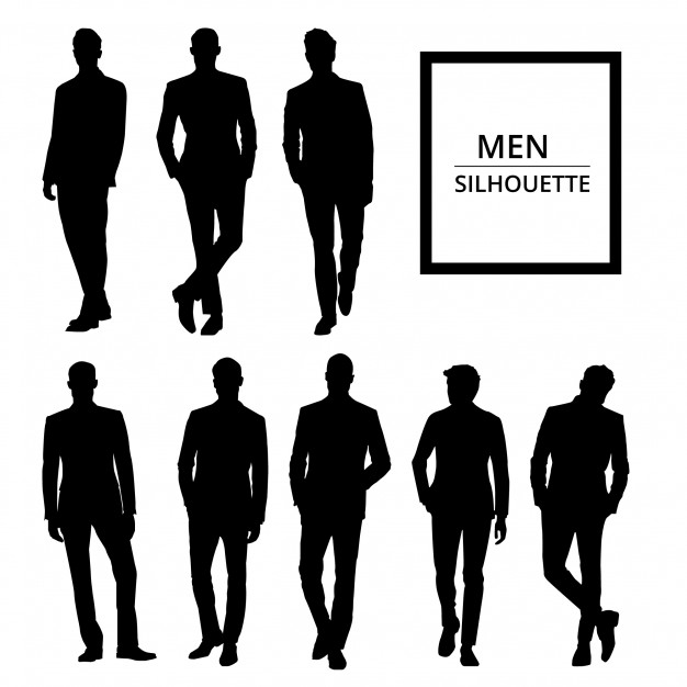 626x626 Silhouettes Vectors, +32,400 Free Files In .ai, .eps Format