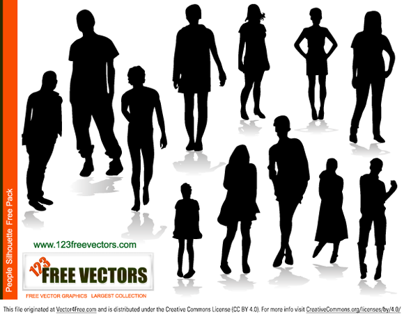 580x459 Free People Silhouettes Free Psd Files, Vectors Amp Graphics