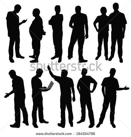 450x470 Human Figure Images Group With Items