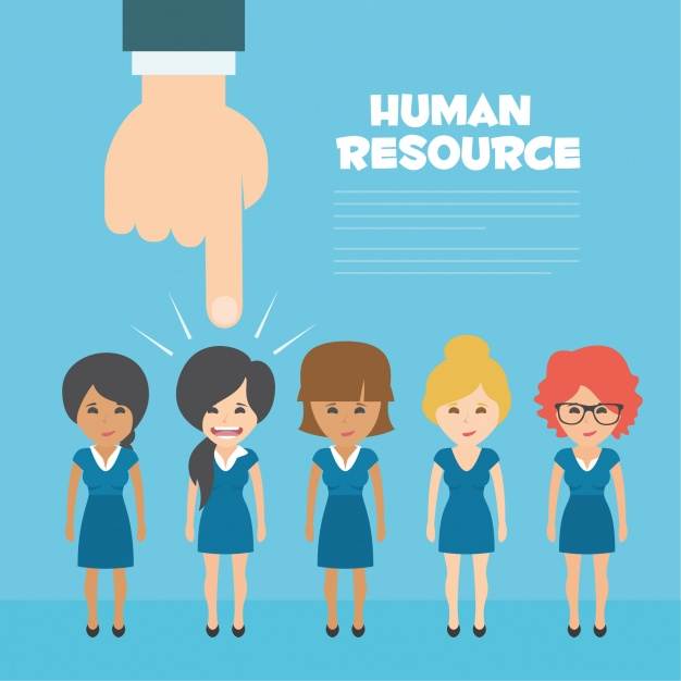 626x626 Human Resources Background Design Vector Free Download