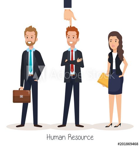 476x500 Group Of People Human Resources Vector Illustration Design