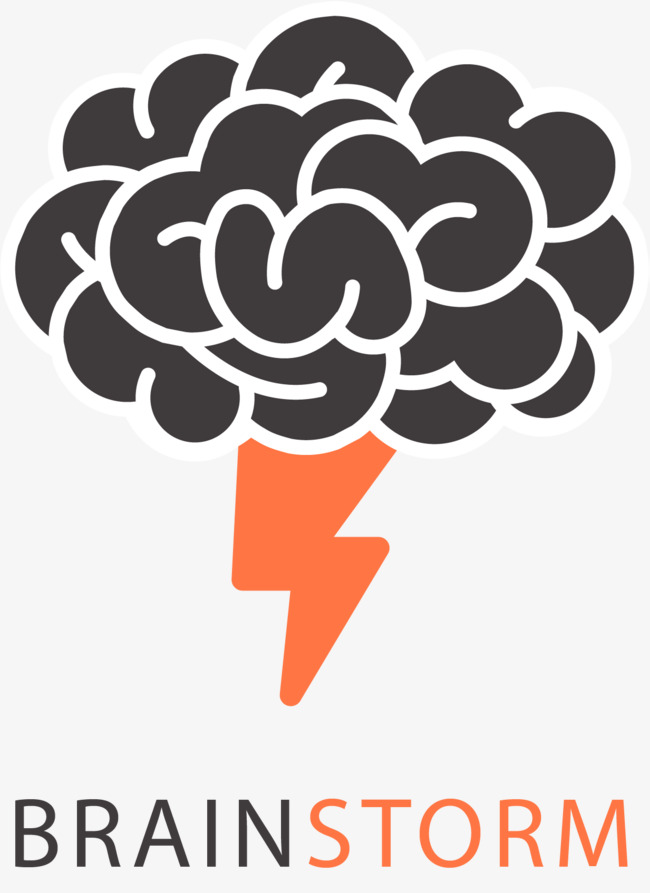 650x893 Brain Lightning Icon, Brain, Human Brain, Mind Png And Vector For