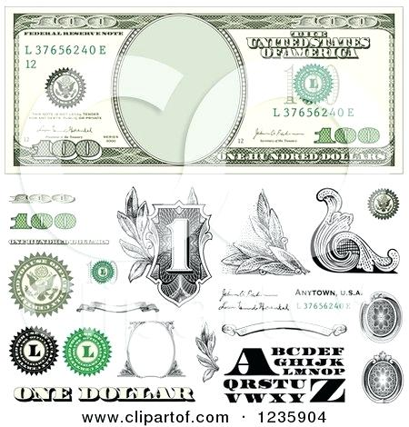 450x470 Money Design Of A One Hundred Dollar Bill And Money Design