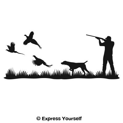 400x400 Hunting Vector Art 175 Best Vinyl Hunting And Fishing Images On