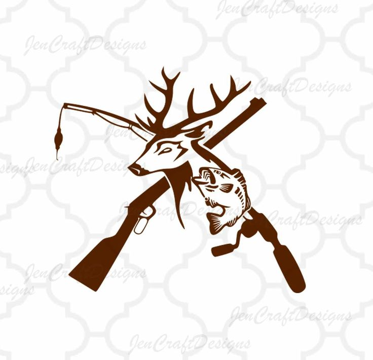 736x710 Hunting Vector Art 176 Best Vinyl Hunting And Fishing Images On