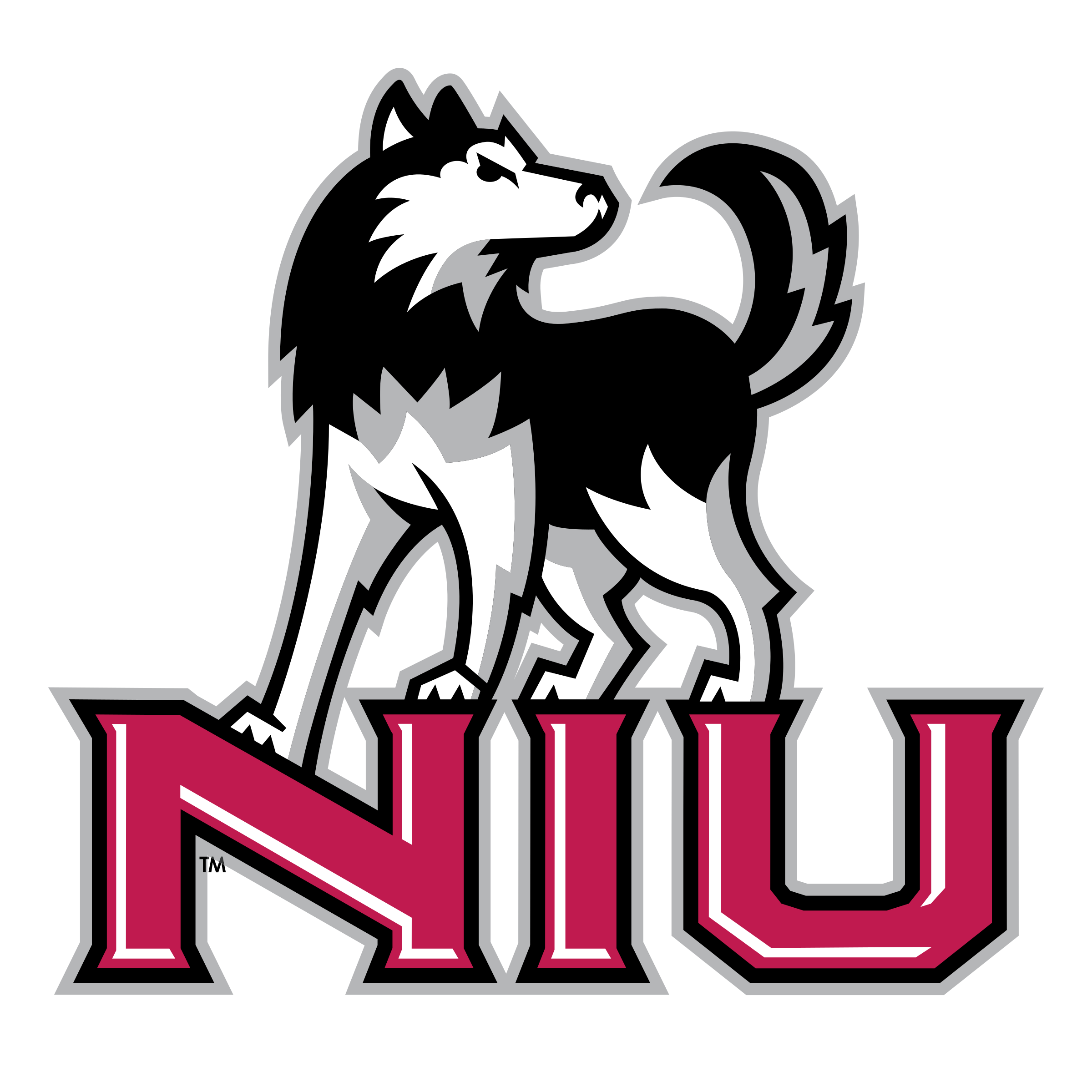 Husky Logo Vector