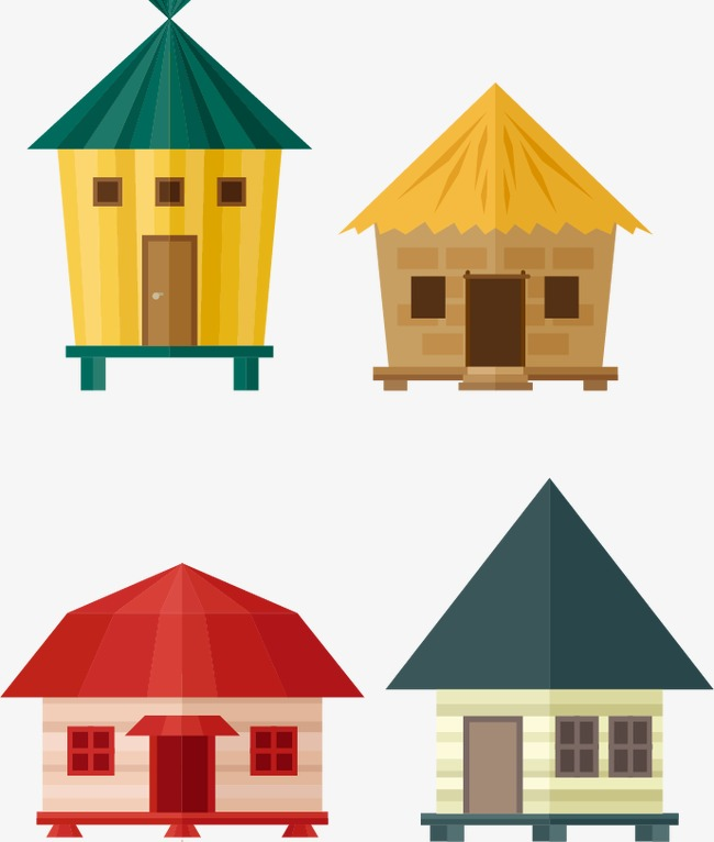 650x766 Hut Vector Material, Vector, Cottage, Material Png And Vector For
