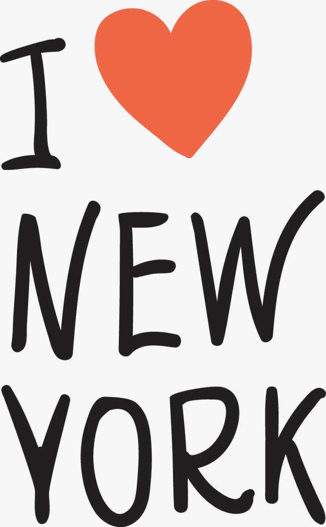 650x1050 I Love New York Element, United States, Love, I Vector Png And