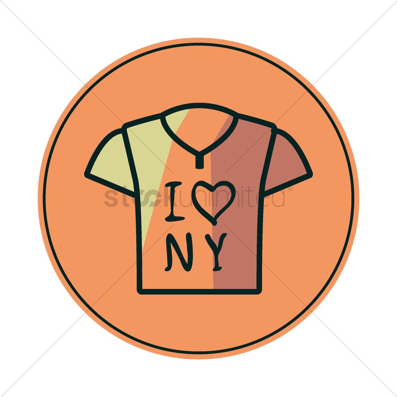 1300x1300 I Love New York Vector Image