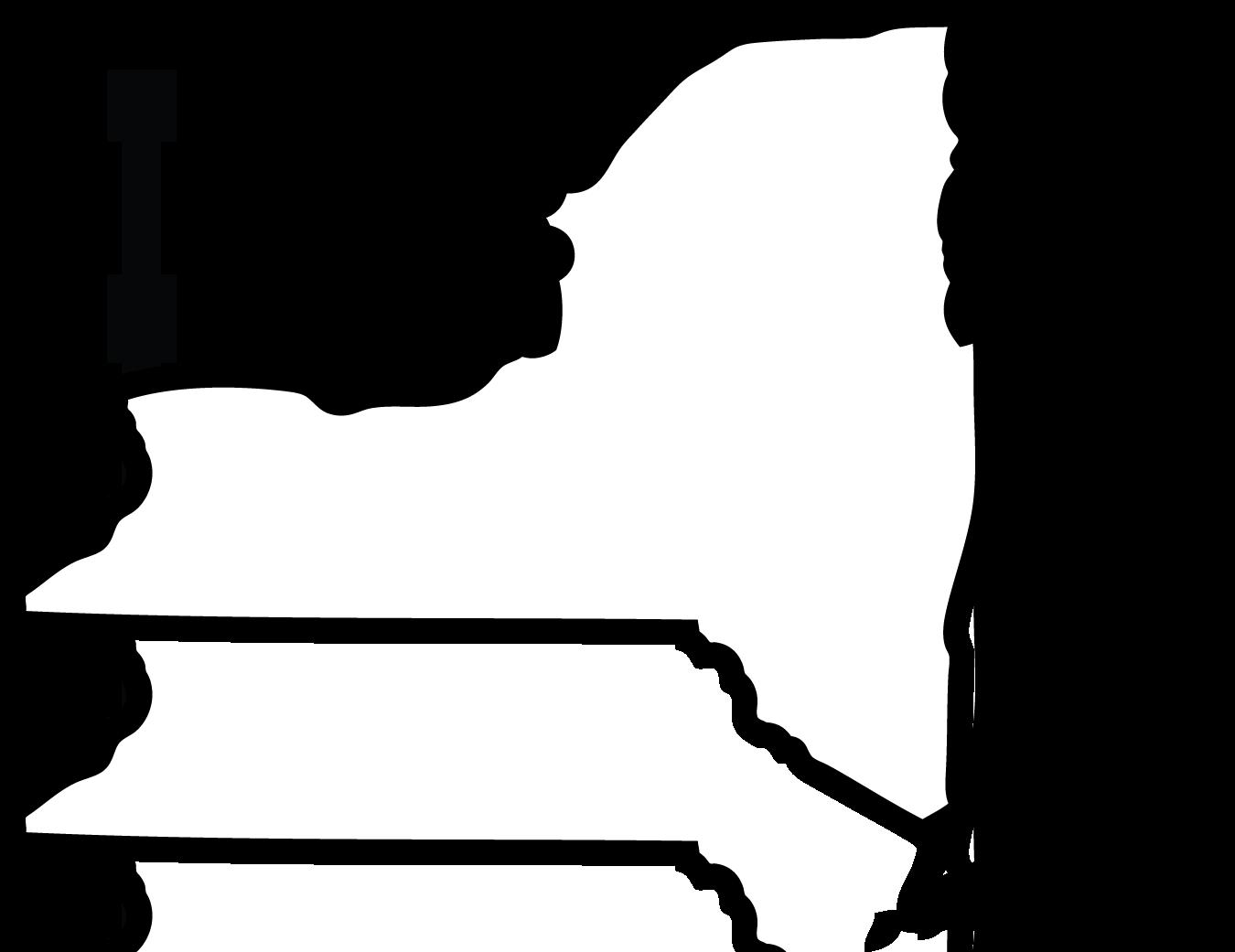 1350x1041 I Love New York Clipart