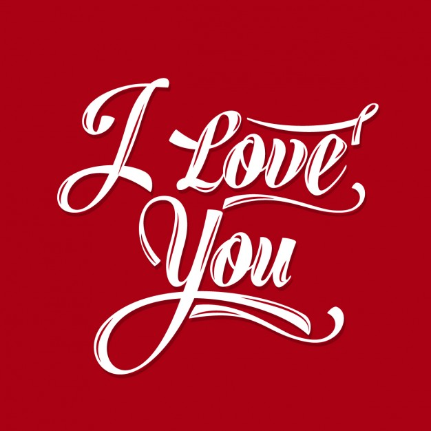 626x626 I Love You Red Card Vector Free Download