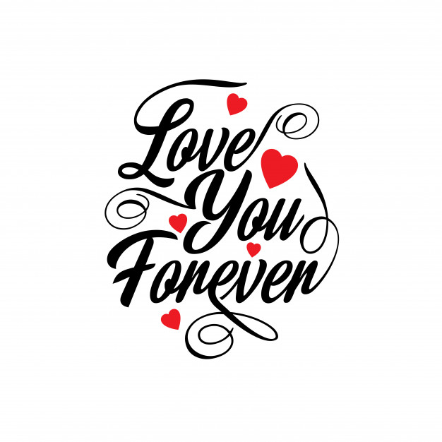 626x626 Love You Forever Vector Free Download