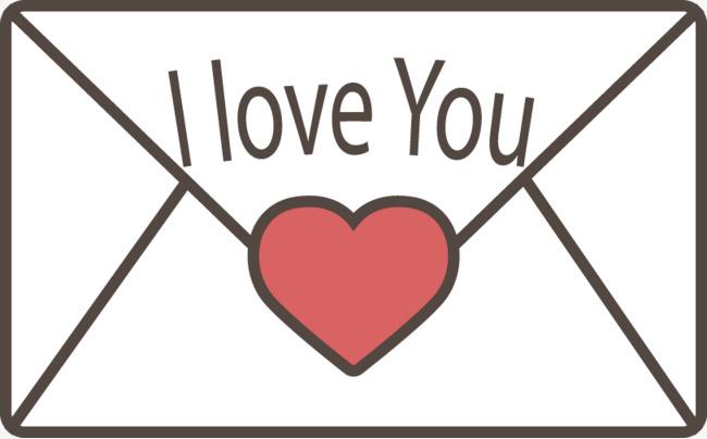 650x404 Vector Love Letter I Love You, Love Vector, Letter Vector, Love