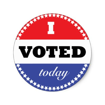 400x400 I Voted Sticker