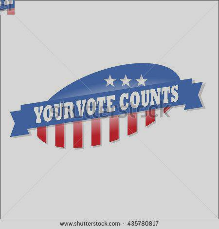 450x470 Voted Sticker Day Clipart