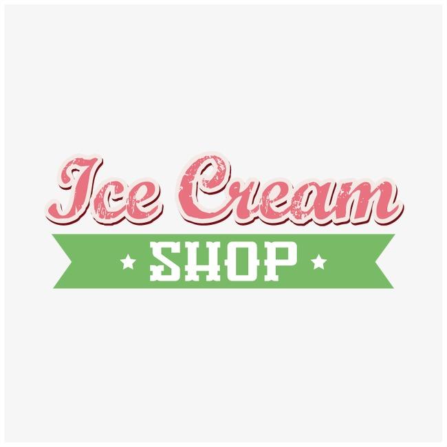 650x650 Ice Cream Shop Logo, Ice Vector, Shop Vector, Logo Vector Png And