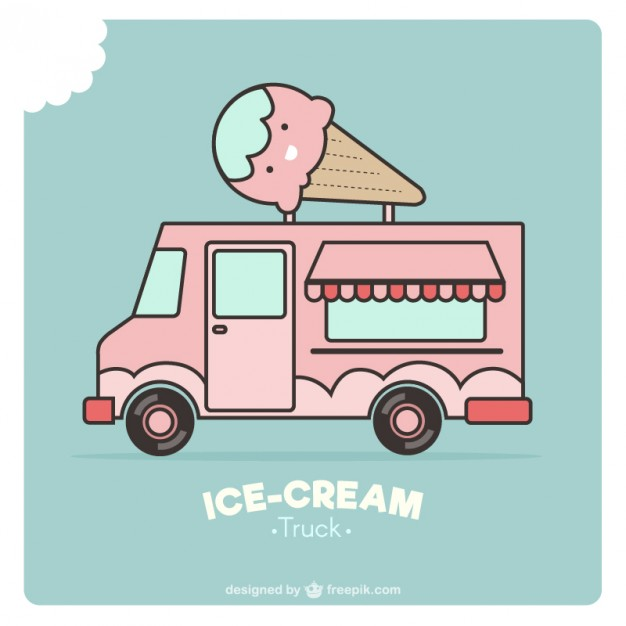 626x626 Ice Cream Truck Vectors, Photos And Psd Files Free Download
