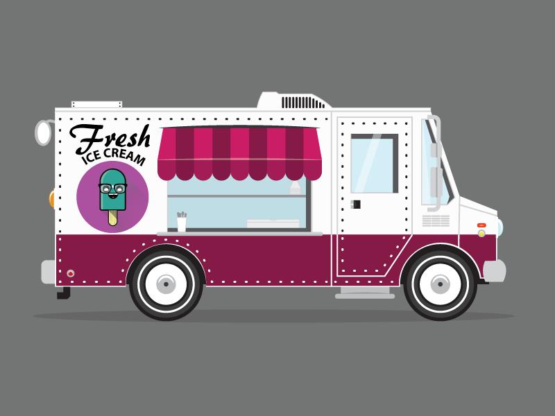 800x600 Ice Cream Truck By Nick Chamberlin