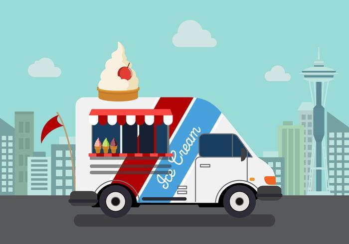 700x490 Vector Ice Cream Truck