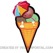 180x180 Free Ice Cream Clipart And Vector Graphics