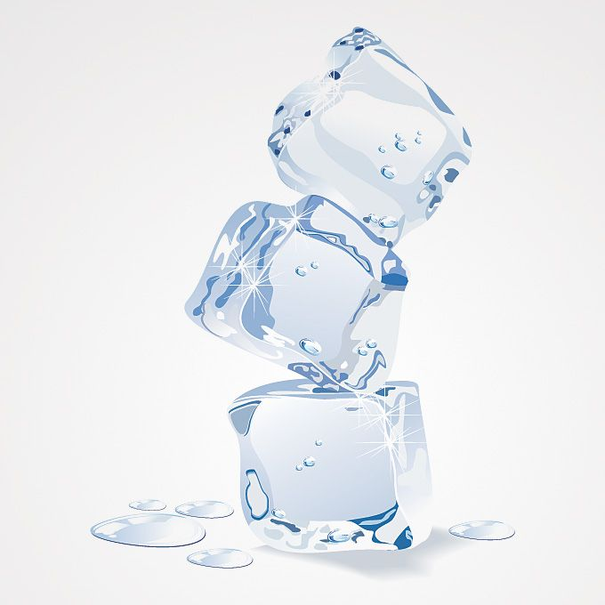 680x680 Free Ice Cube Vector Graphics. Ice Cube Pile Illustration Consist
