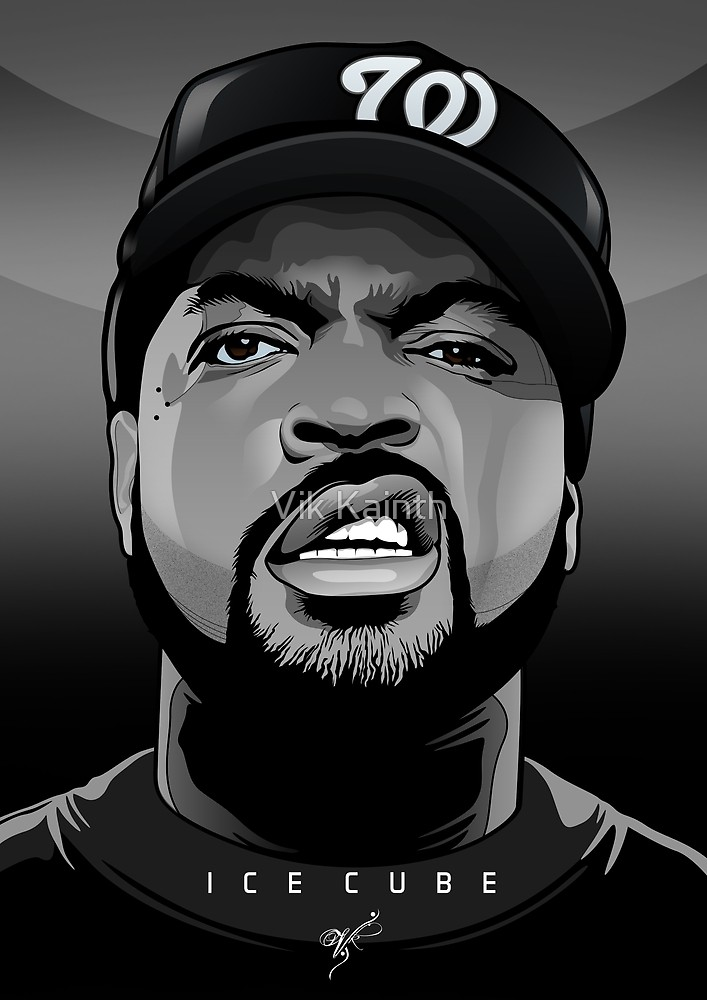 707x1000 Ice Cube Vector Portrait