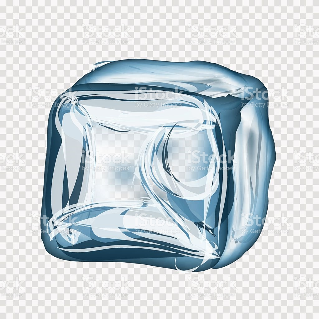1024x1024 Ice Cube Clipart Vector