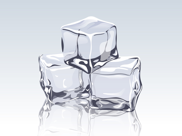 600x450 Transparent Ice Cubes Design Vector Free Download