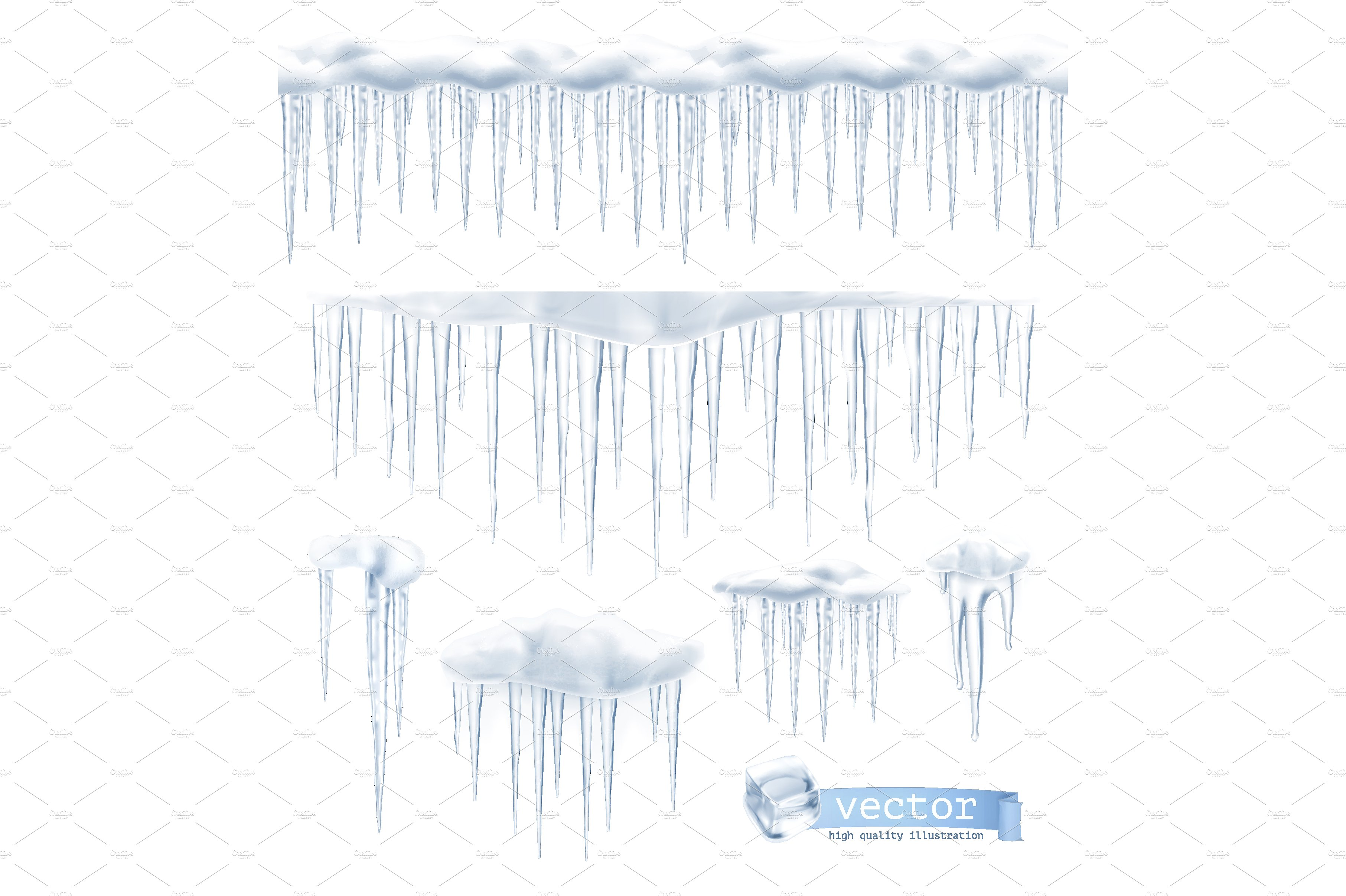 3625x2413 Icicle Clipart Vector ~ Frames ~ Illustrations ~ Hd Images ~ Photo