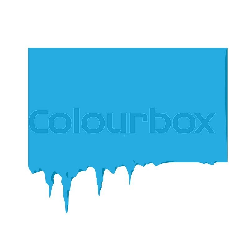 800x776 Collection Of Frozen Icicle Snow Winter Vector Banner. Icicle