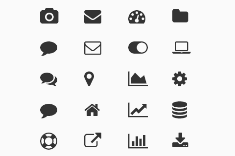 480x320 Best Free Vector Icons 2014