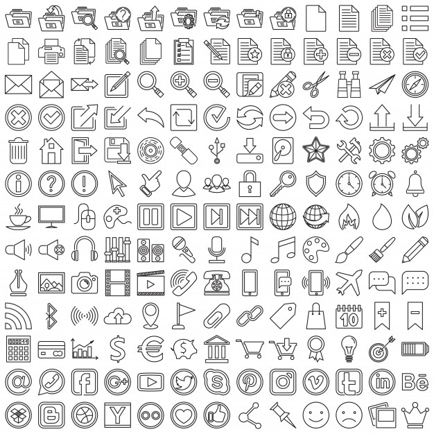 626x626 Icons Vectors, +195,800 Free Files In .ai, .eps Format