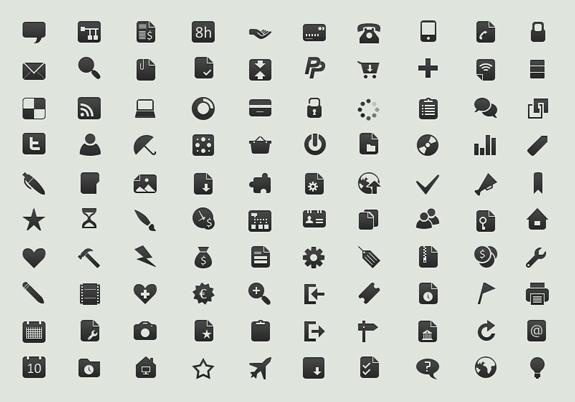575x402 45 Free Small Symbols Vector Icon Sets The Design Work
