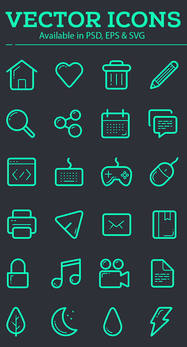 600x1114 Vector Icon Set Icons Free Download Icons Graphic