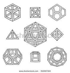 Icosahedron Vector