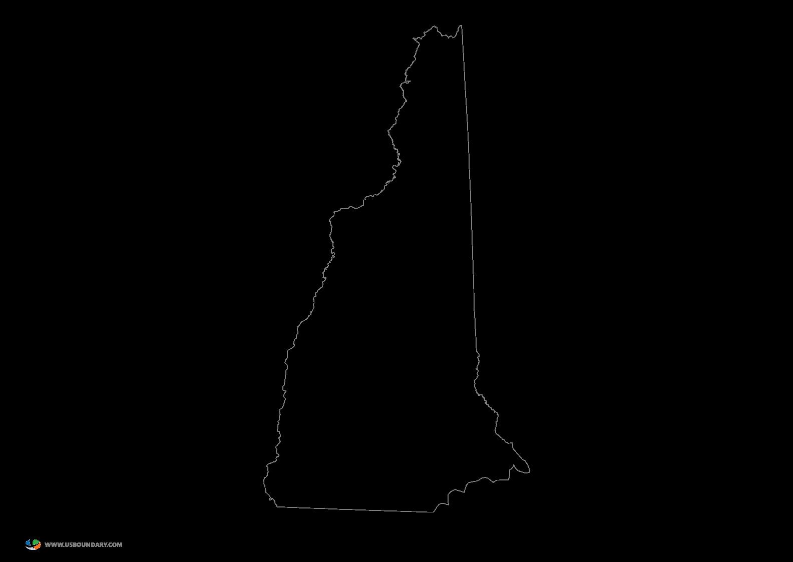 Idaho Outline Vector