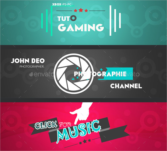 585x528 Youtube Banner Art Template Free Psd, Ai, Vector Eps