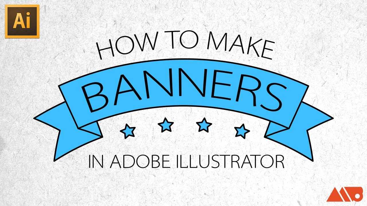 1280x720 Adobe Illustrator Tutorial How To Make Banners Ribbons