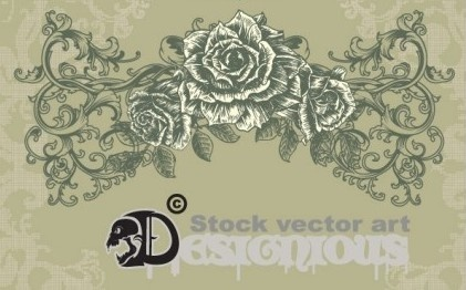 421x262 Floral Illustrator File Free Vector Download (223,508 Free Vector