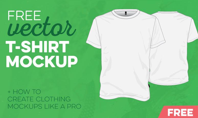 775x461 Free T Shirt Template Vector Mockup Vector File