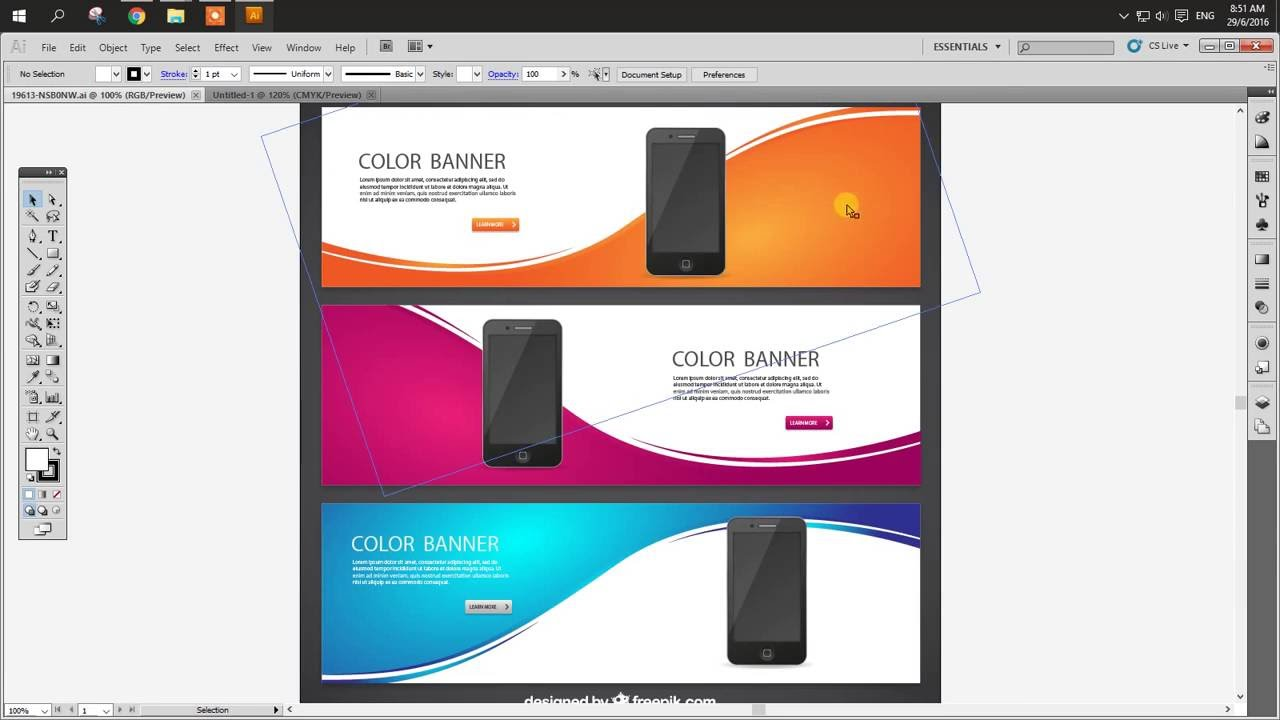 1280x720 How To Edit Vector From Freepik Website In Illustrator