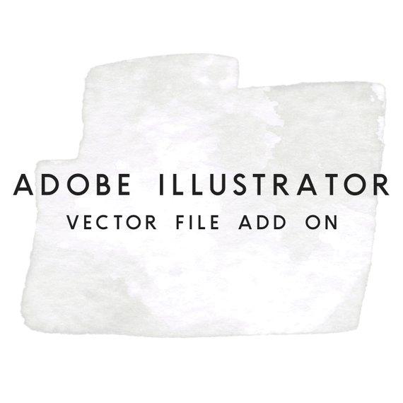 570x570 Adobe Illustrator Vector File Add On Etsy