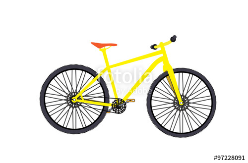 500x329 Bicycle. Vector Illustrator. Stock Image And Royalty Free Vector